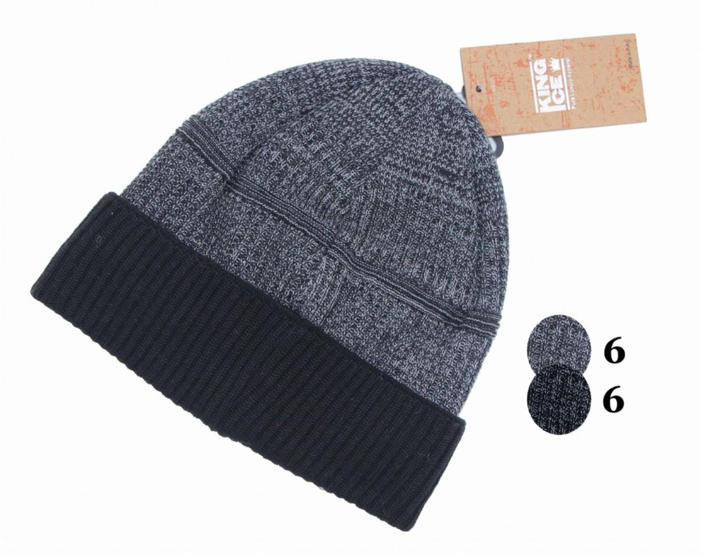 Thermal beanie unisex boys winter beanie hat H248-HT458782